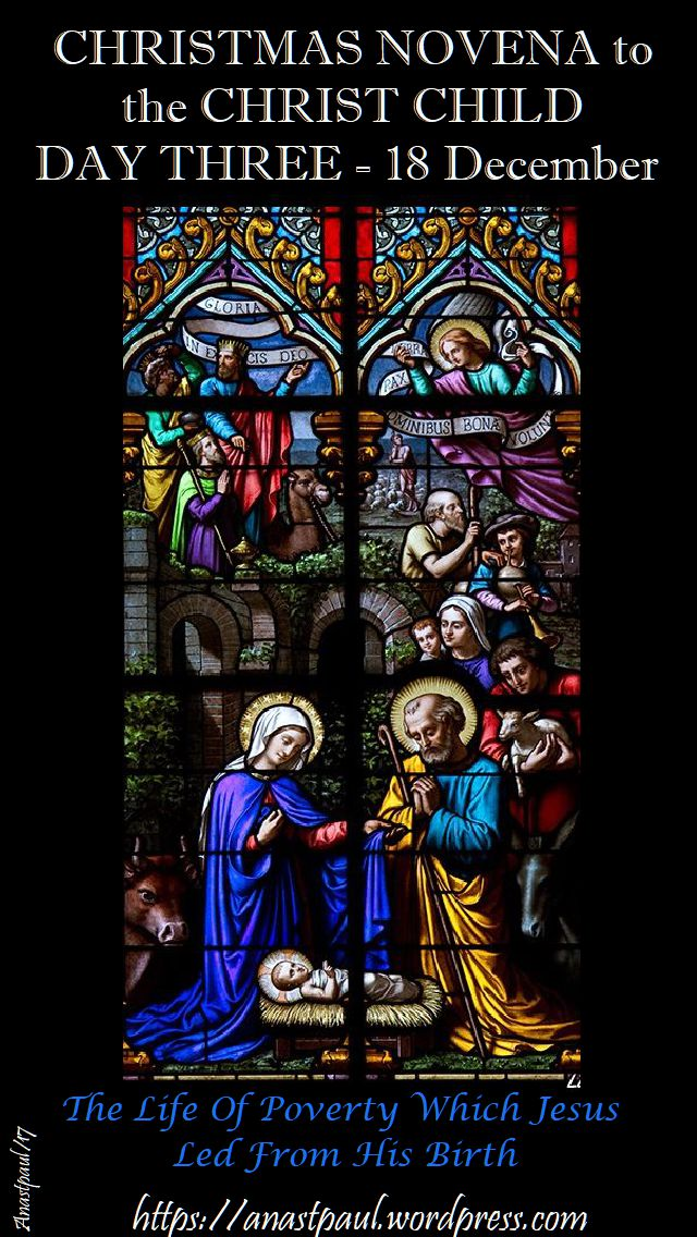 christmas novena to the christ child day three 18