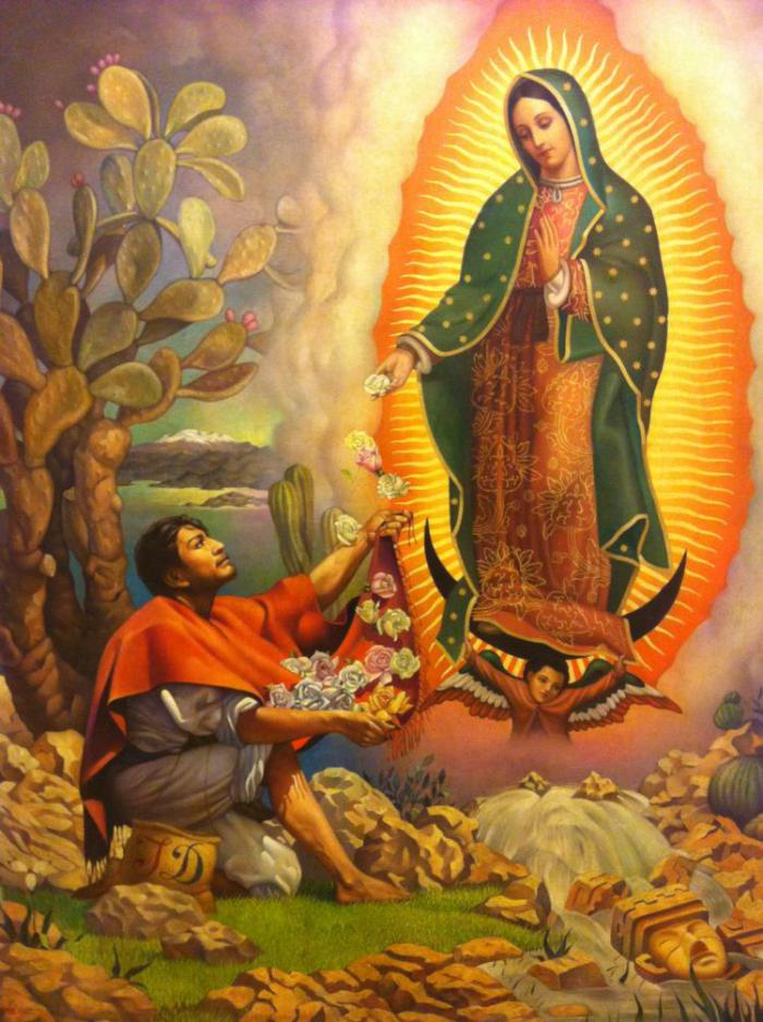 guadalupe and the roses
