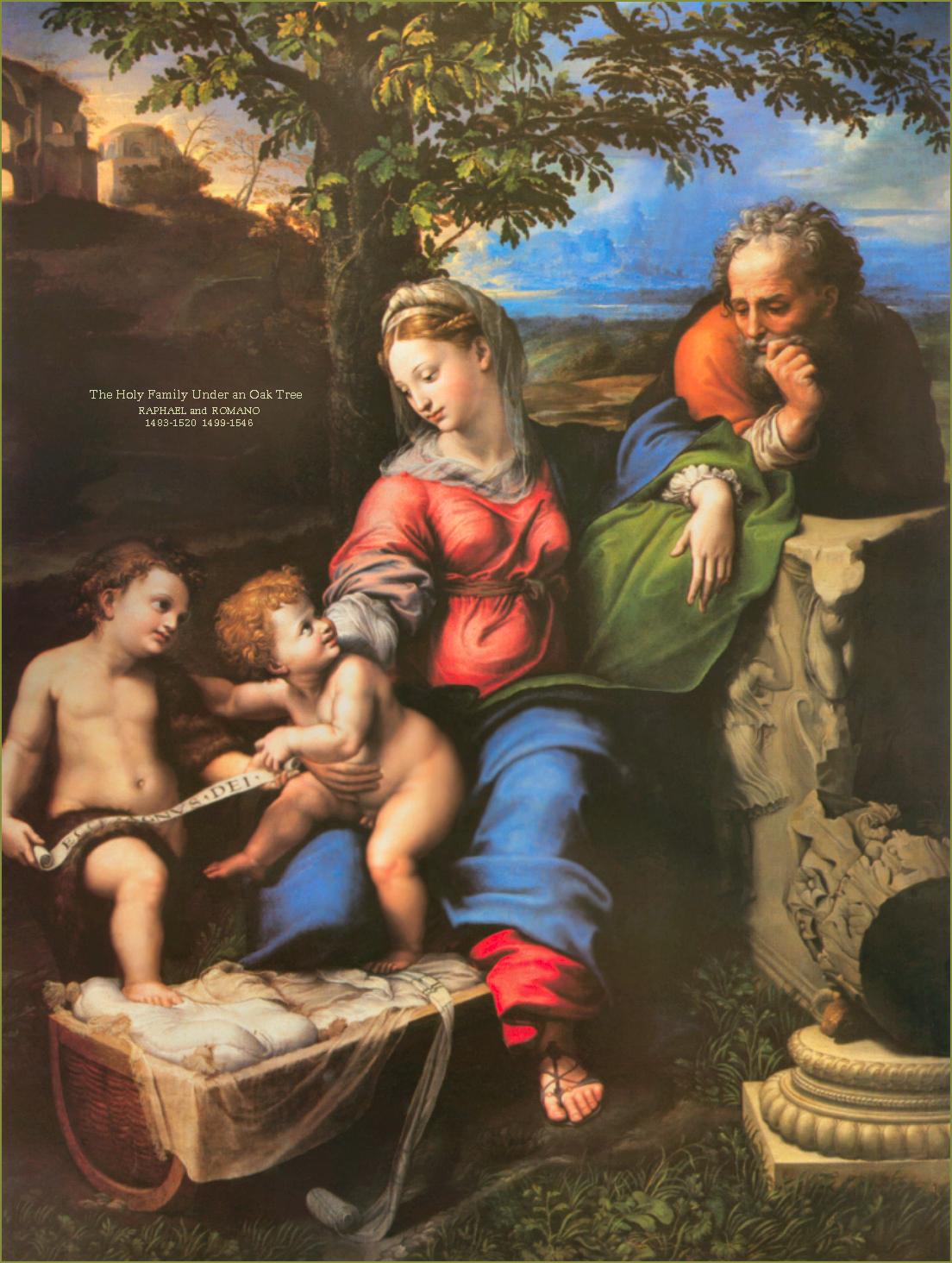 holy-family1 - RAPHAEL AND ROMANO
