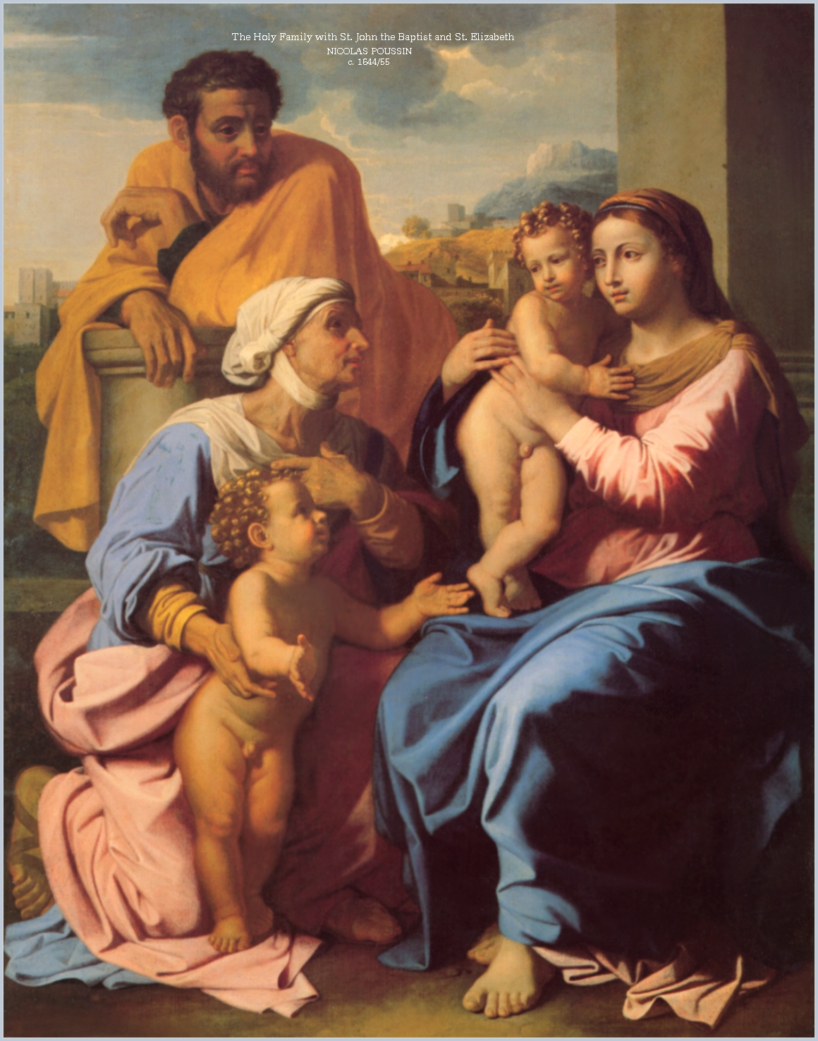 holy-family18- POUSSIN