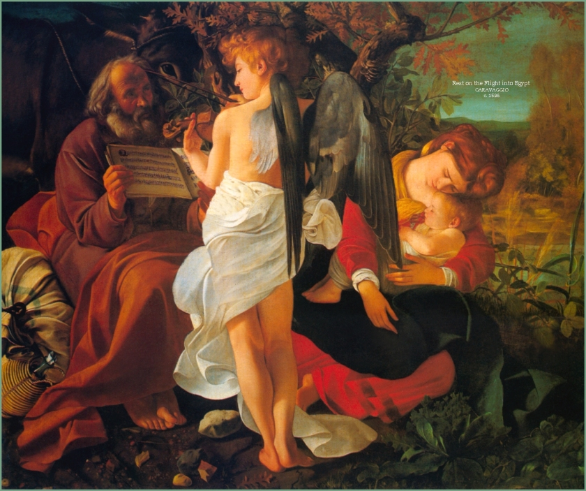 holy-family3 caravaggio