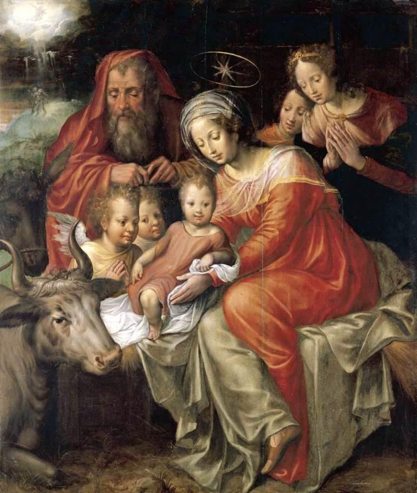 Jacob_de_Backer_-_The_Nativity_-_WGA1127