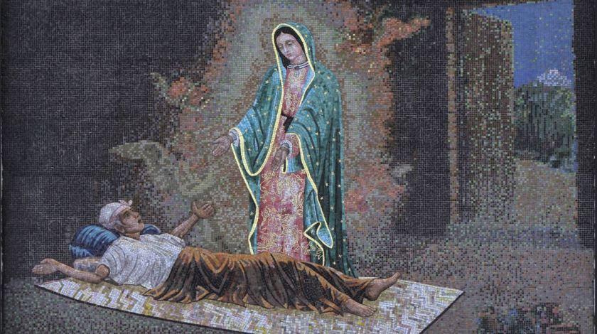 Our lady heals Juan Bernardino