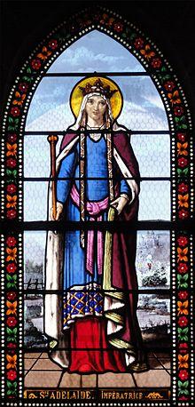 Sainte-Adélaïde_-_Église_de_Toury,_vitraux_par_Lorin