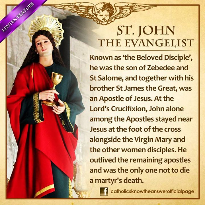 Saint of the Day – 27 December – St John the Apostle and