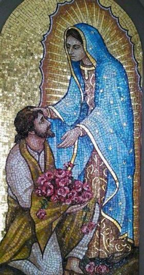 st juan diego and mary