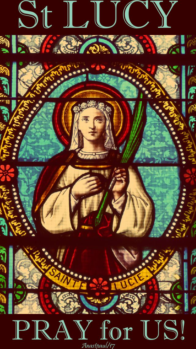 st lucy pray for us 2