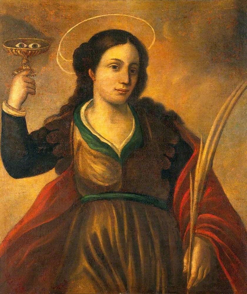 unknown artist; Saint Lucy