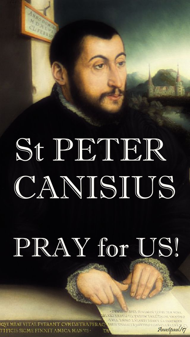 st peter canisius pray for us 2
