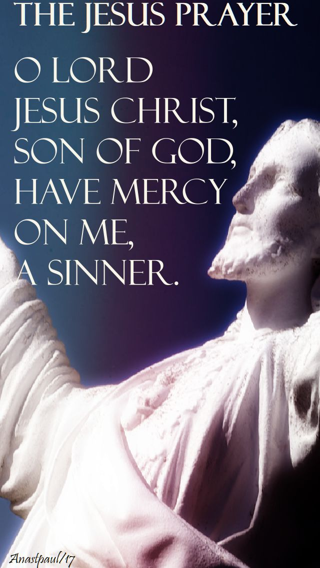 the jesus prayer - 1 jan 2018