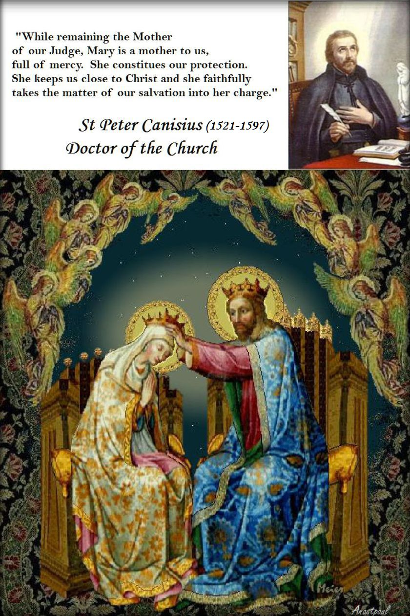 while remaining the mother of our judge - st peter canisius - 2016 image