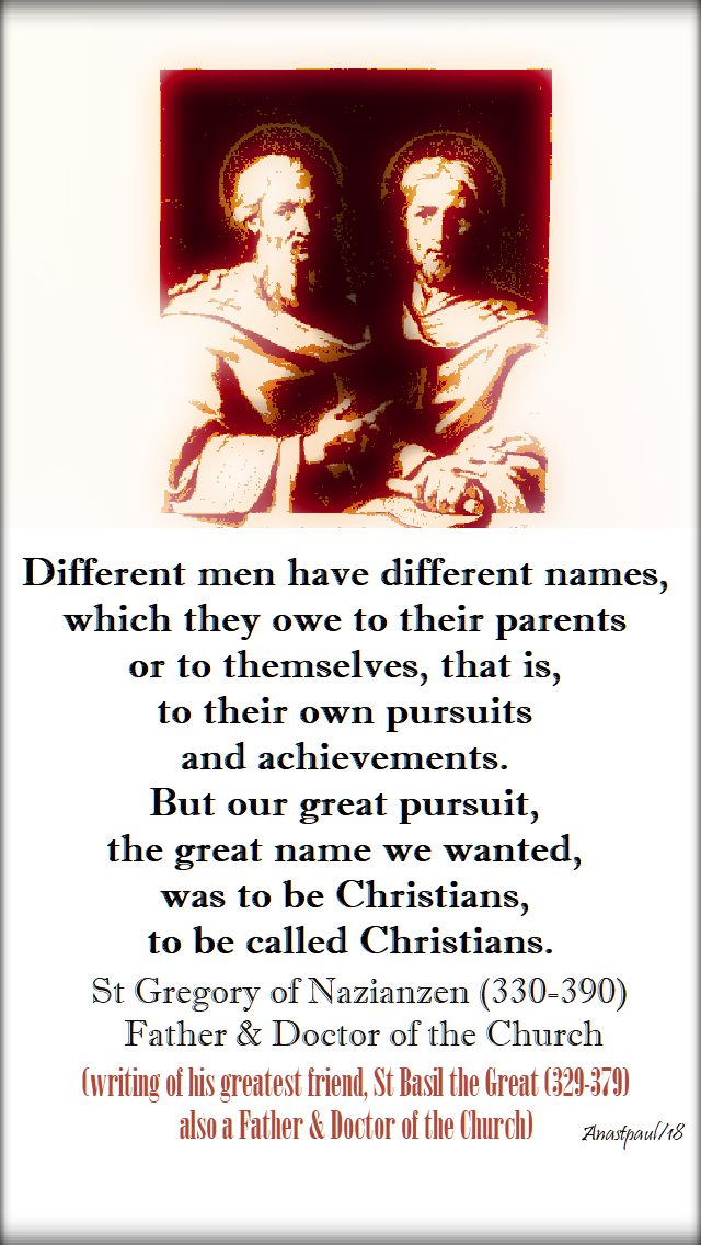 different men - st gregory of nazianzen - 2 jan 2018