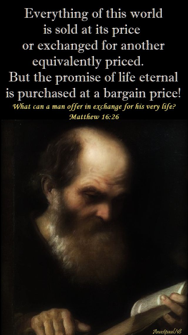 everything of this world - st anthony abbot - 17 jan 2018