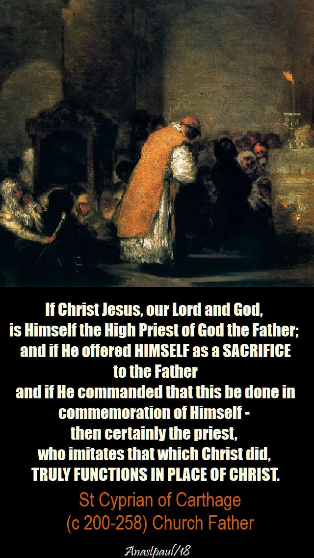 if christ jesus - st cyprian - 14 jan 2018