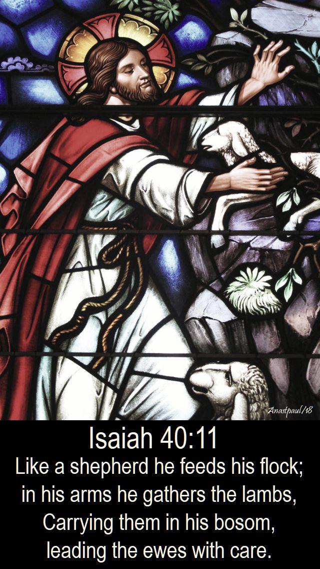 isaiah 40 11