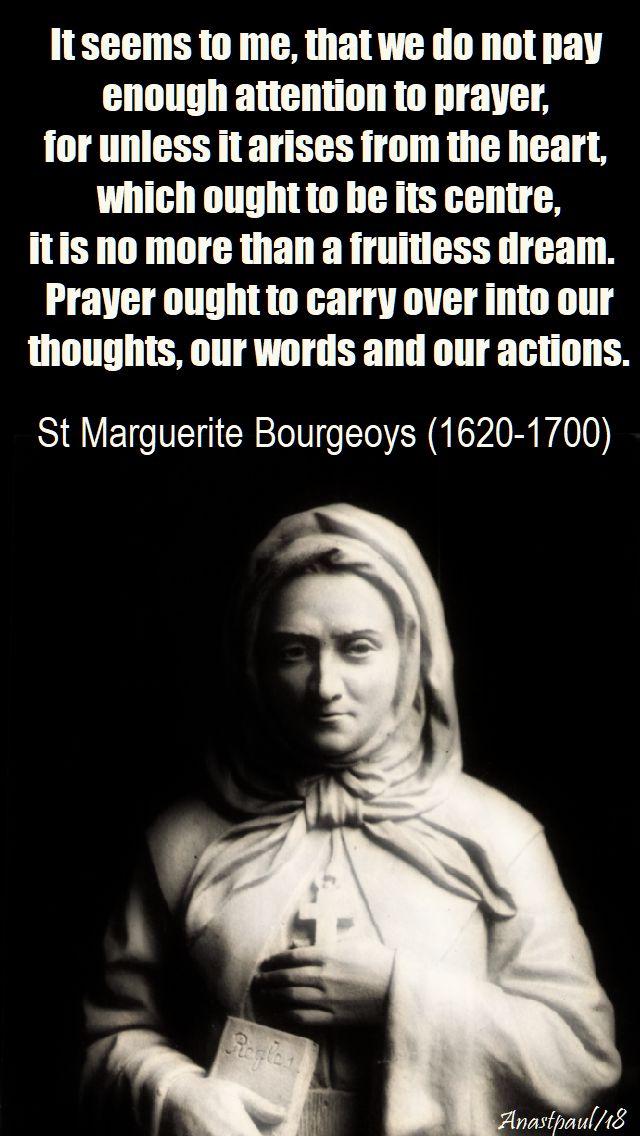 it seems too me - st amarguerite bourgeoys - 12 jan 2018