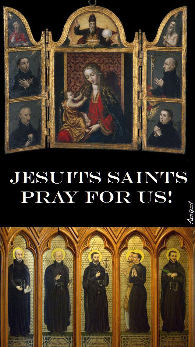 jesuits-saints-pray-for-us- 3 jan 2016