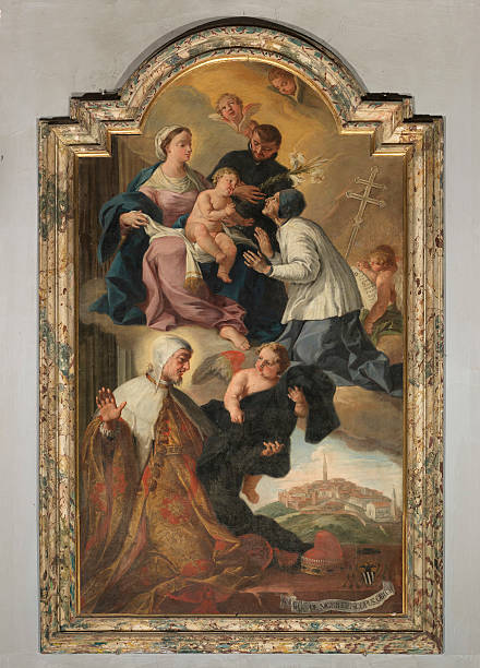 Madonna with Child and Saints Gaetano from Thiene, Lawrence Giustiniani and Peter Orseo