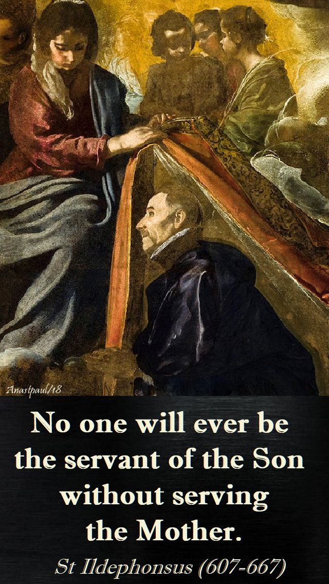 no one will ever be - st ildephonsus - 23 jan 2018