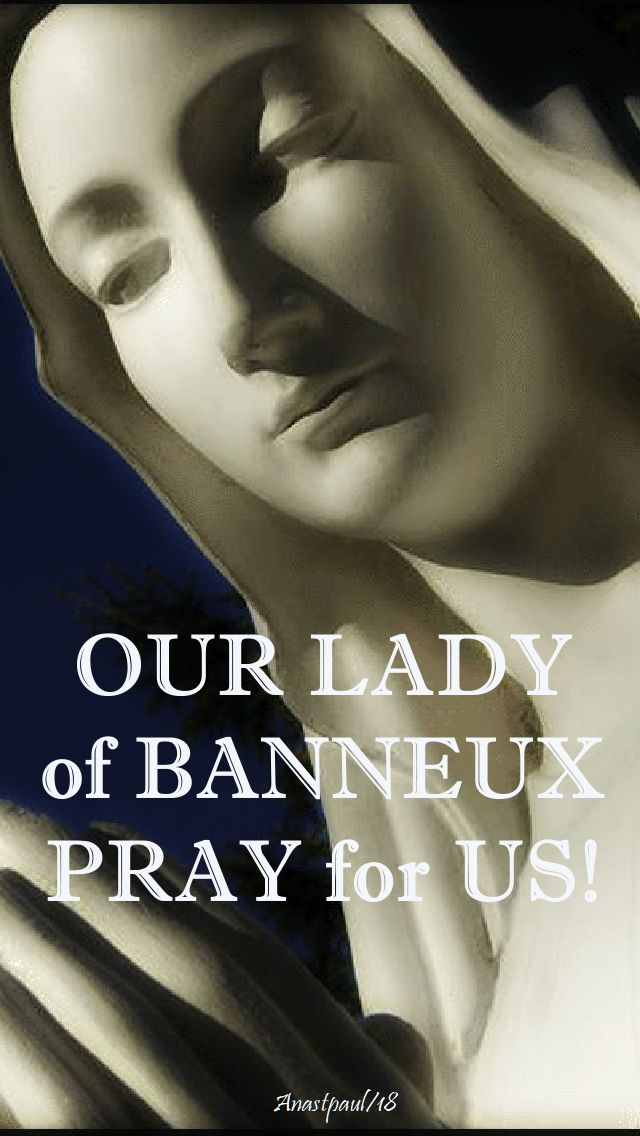 our lady of banneux - pray for us no 2 - 15 jan 2018