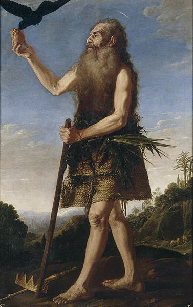 Francisco Collantes, St. Paul the Hermit, 17th century