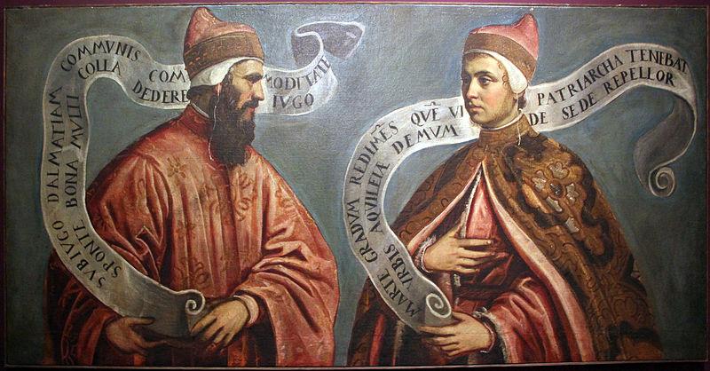 Portrait of Doges Pietro Orseolo II and Ottone Orseolo-Tintoretto
