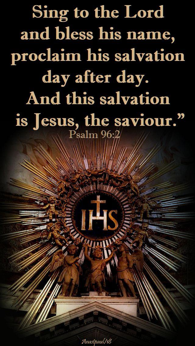 psalm 96 2