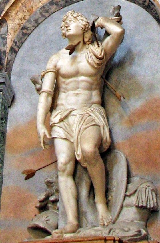 sebastian statue