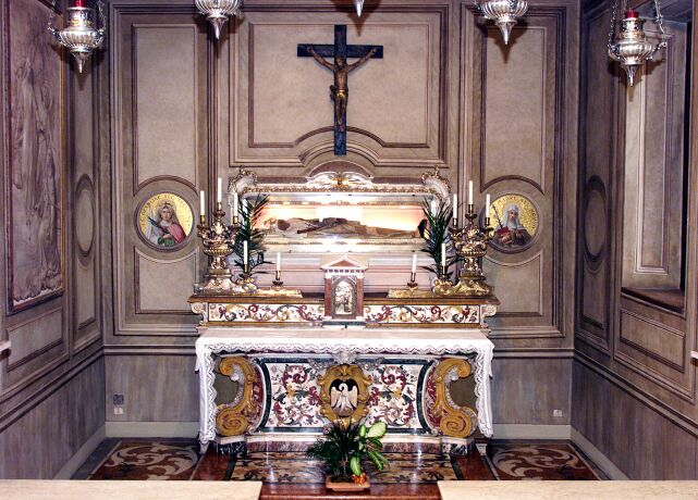 st angela shrine and incorrupt body