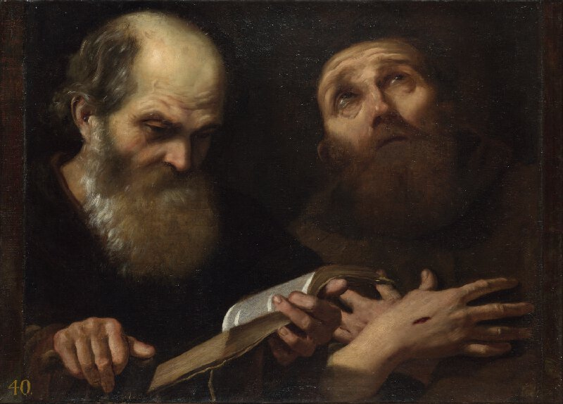ST ANTHONY ABBOT AND ST FRANCIS OF ASSISI