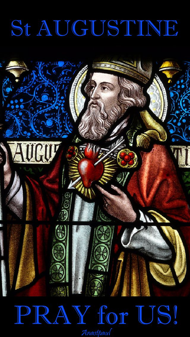 st augustine pray for us
