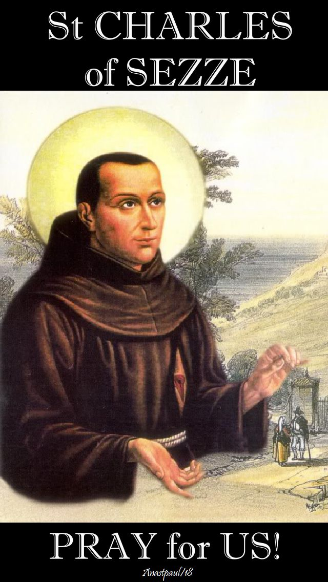 ST CHARLES OF sezze pray for us no 2 - 6 jan 2018