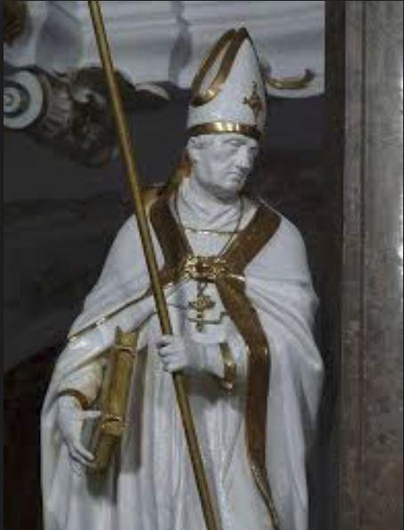 st ildephonsus.statue
