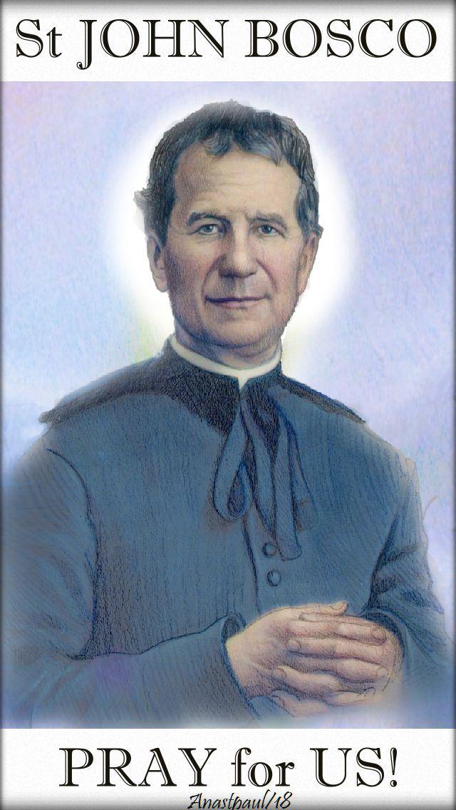 st john bosco pray for us - 31 jan 2018