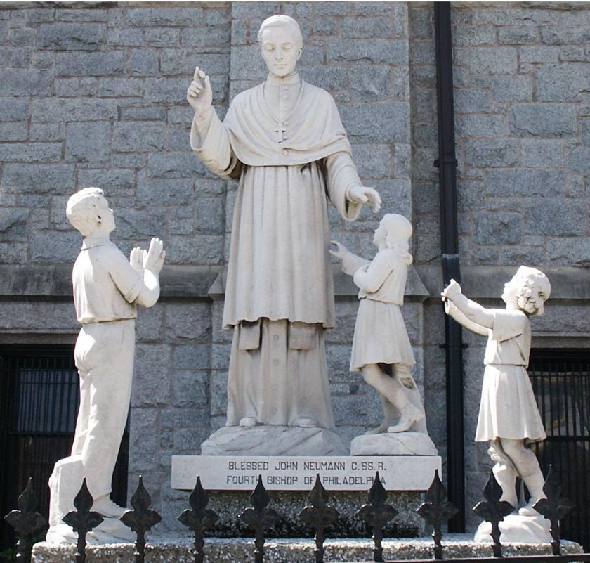 st john newmann statue