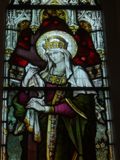 st margaret of hungary - beautiful stained glass - lg