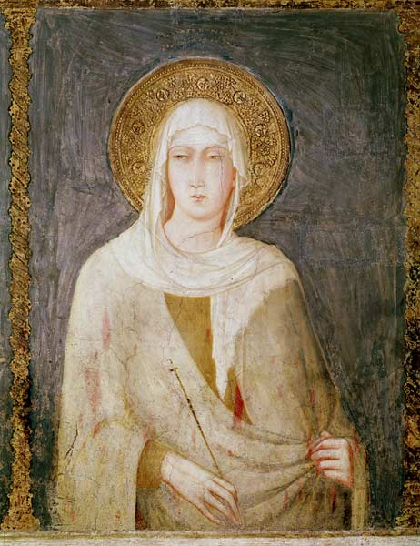 st margaret of hungary from the triptych