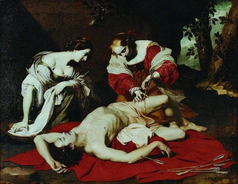 Regnier, Nicolas, c.1590-1667; St Sebastian Tended by the Holy Irene