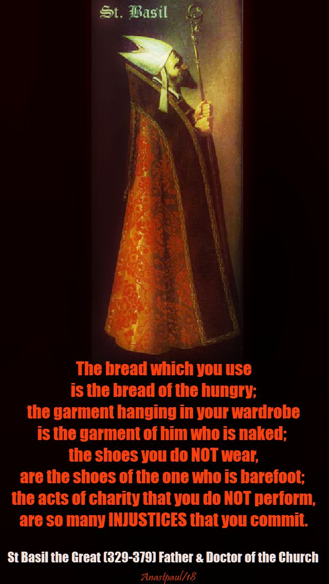 the bread whioch you use - st basil the great - 2 jan 2018