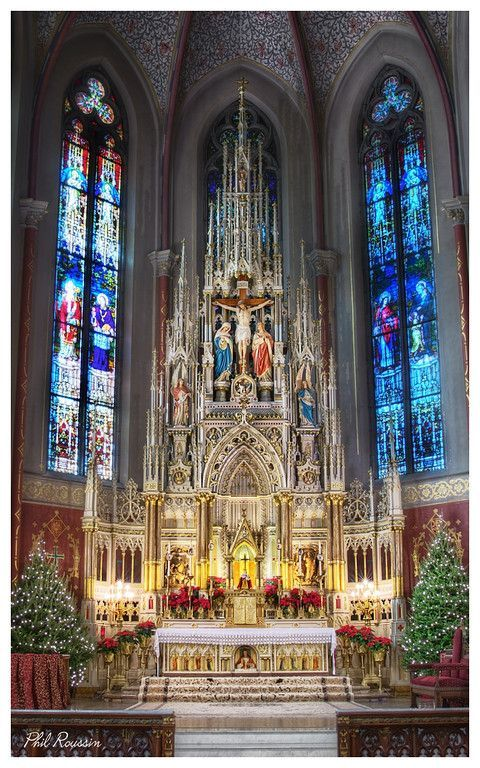 The High Altar at Saint Francis de Sale, St Louis