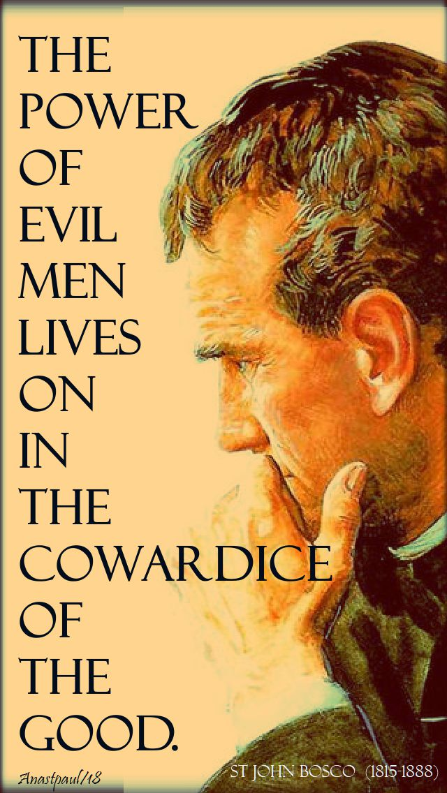 the power of evil - st john bosco - 31 jan 2018