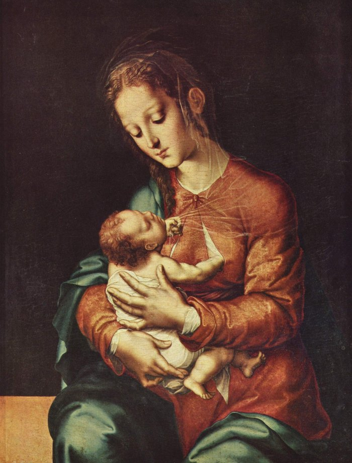 Virgin and Child (Luis De Morales)