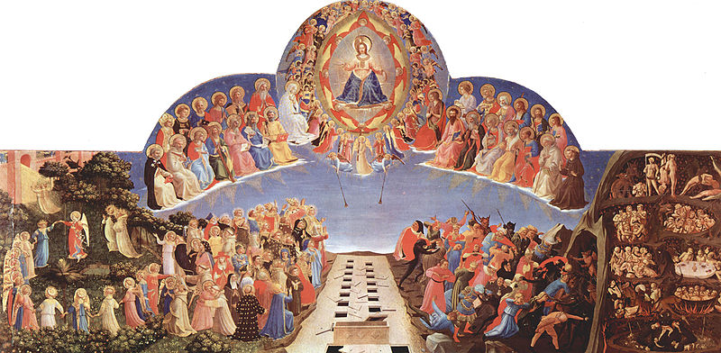 800px-Fra_Angelico_the last judgement.009