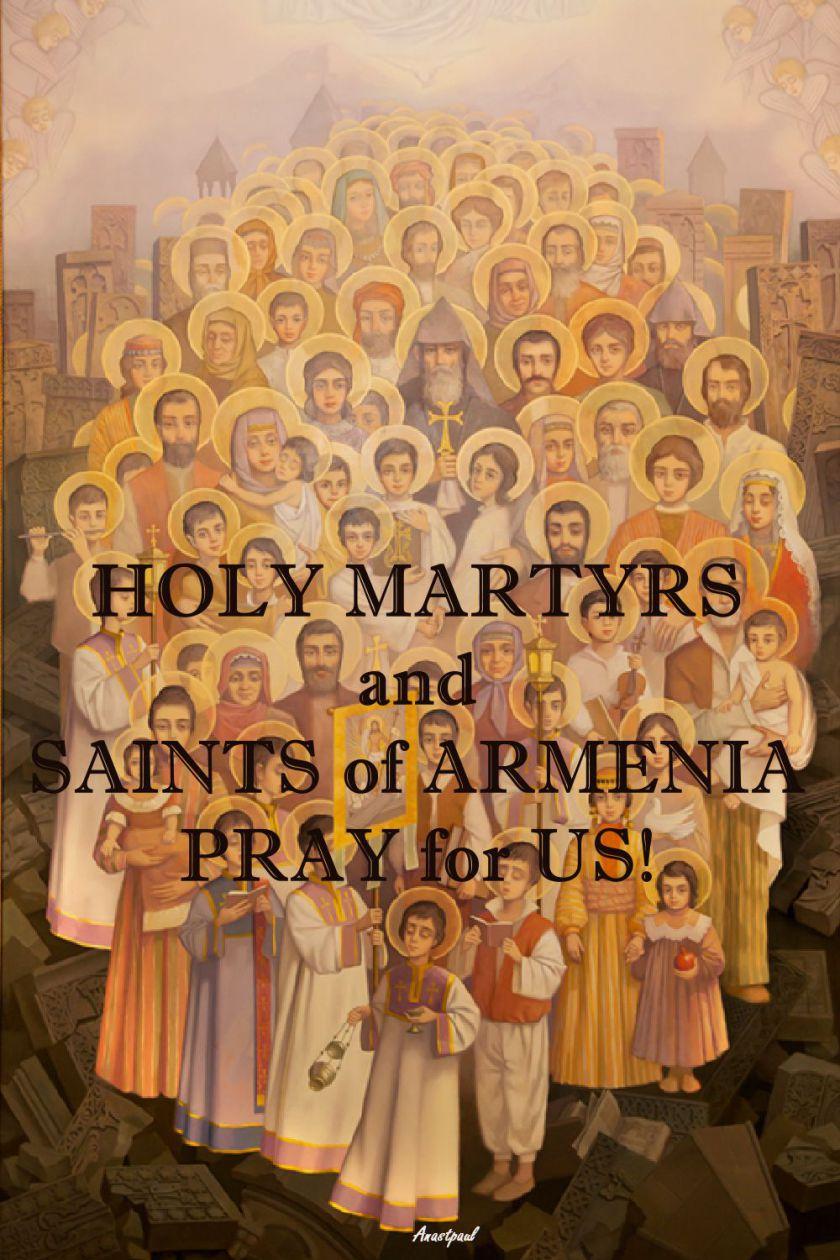 armenian-martyrs-ico-pray-for-us-27 feb 2017