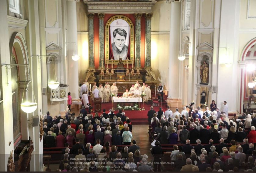 Beatification Mass for Bl John Sullivan 13 May 2017- Cardinal Angelo Amato-ecumenical