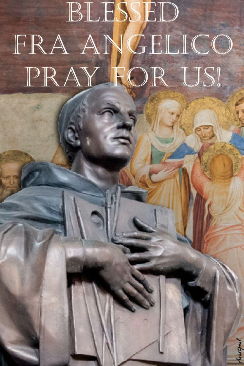 bl-fra-angelico-pray-for-us-2-18 feb 2018