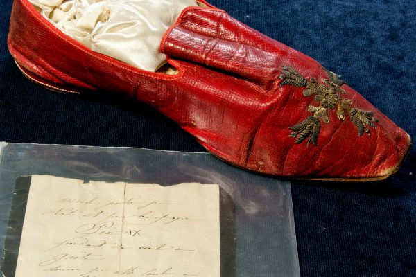 Blessed-Pius-IX-Red-Shoe-Document-of-Authenticity-600x400