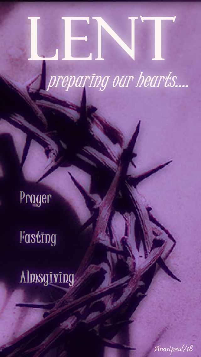 lent - preparing our hearts - 30 jan 2018-no 2