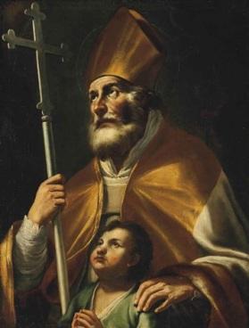 mattia-preti-saint-blaise-and-a-boy-praying