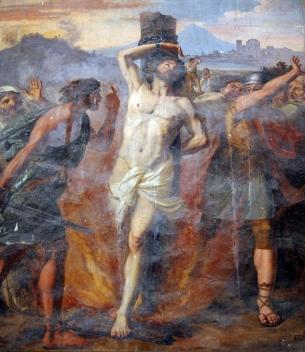 Niccolo Circignani - 16th Century The Martyrdom of St Polycarp